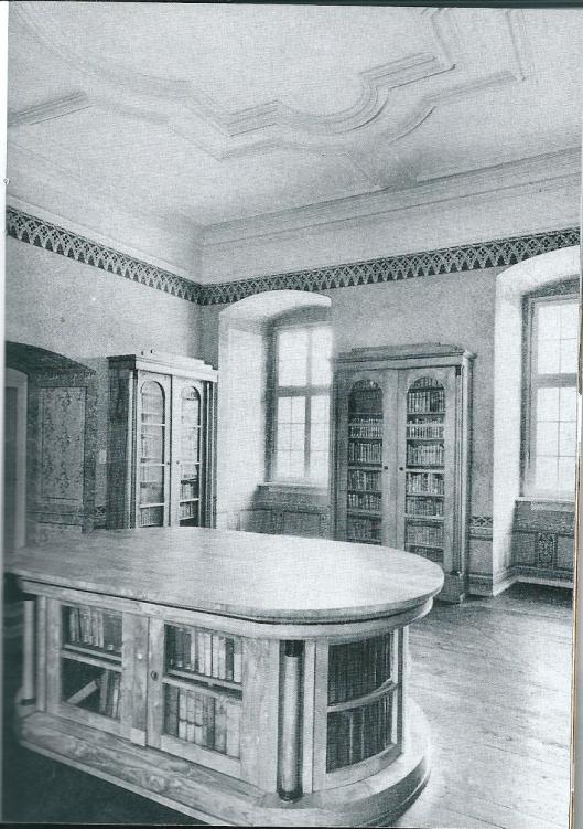 Fürstliche Bibliothek Corver. Ander deel van zaal 5