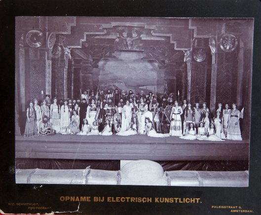 Opvoering van Götterdämmerung, 1902