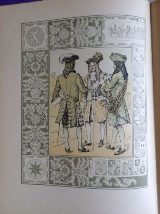 Illustratie uit maskerade Willem III uit 1905 door A.Molkenboer