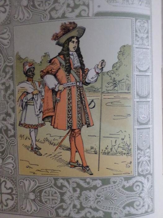 Illustratie uit maskerade 1905 door A.Molkenboer