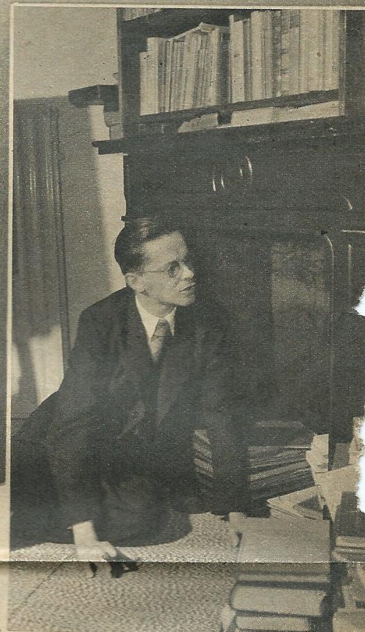 Een jonge Harry Prenen, uit de Katholieke Illustratie van 1935.