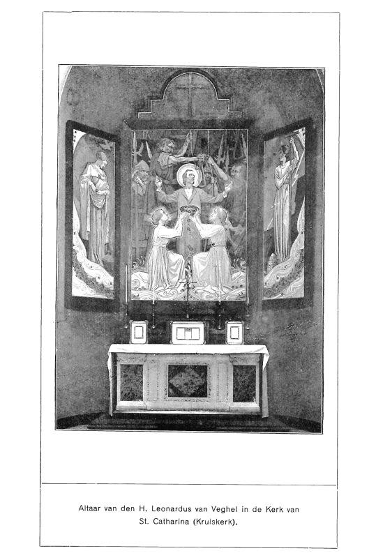 Drieluik van A.Molkenboer in Veghel. Foto uit een in 1923 uitgegeven boekje.