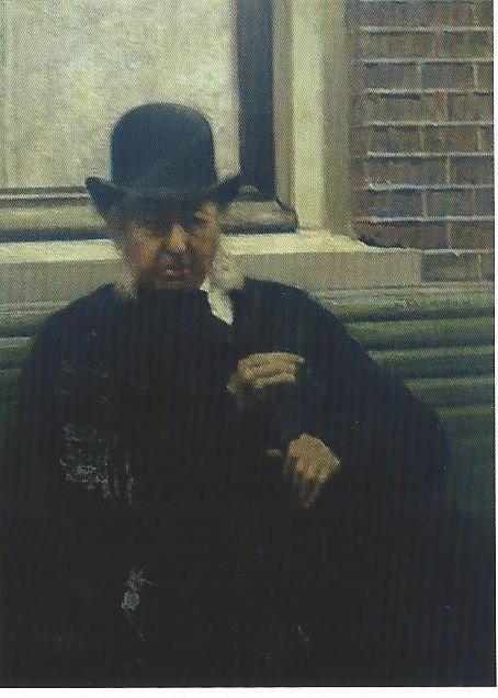 Geschilder portret van F.R.P.Victor. eigenaar van Zuiderhout (uit boek van Klaas de Jong)