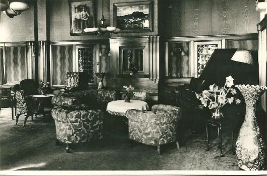Interieurfoto Sparenhout uit 1988