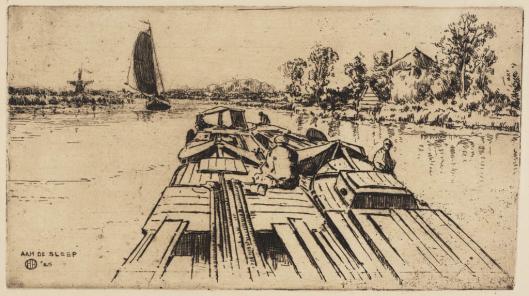 Herman Heuff; ets van het Spaarne ,1925
