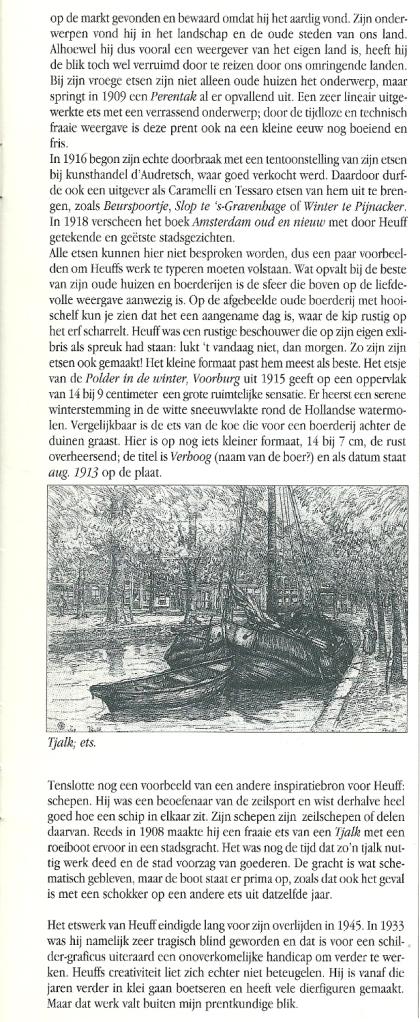 Vervolg: Etsen van Heuff. Uit: Boekenpost 54, juli/augustus 2001.