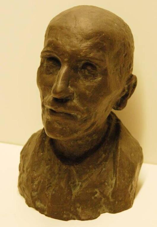 Portretbuste van Emile Erens door Mari Andriessen (Frans Hals Museum Haarlem). Foto: Arend Velsink