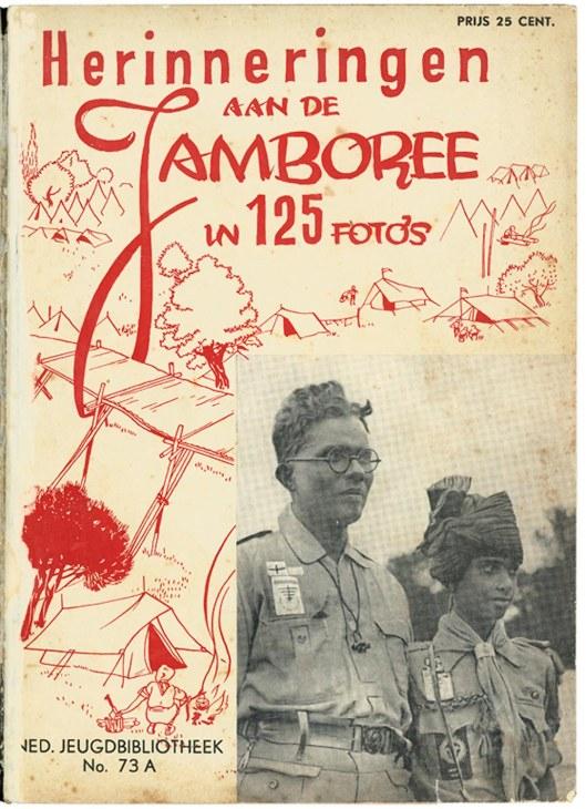 In 1937 uitgegeven fotoboek met herinneringen aan de wereldjamboree 1937
