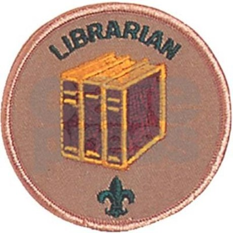 Librarian scout badge