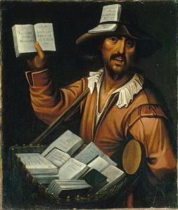En marskramer ofwel colporteur met boeken