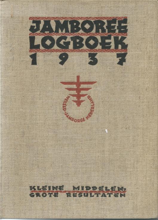 Vooromslag van Jamboree logboek 1937