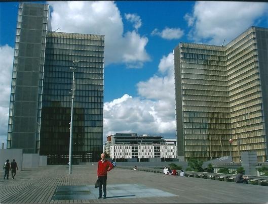 Hans Krol voor de Très Grande Bibliothèque Mitterand in Parijs (2012)