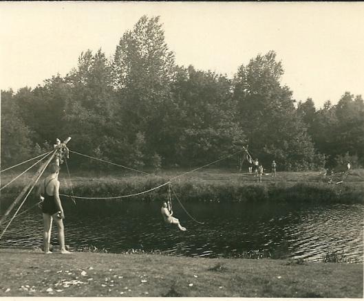 Padvinderskamp in Ommen met Kees de Groot (1936)