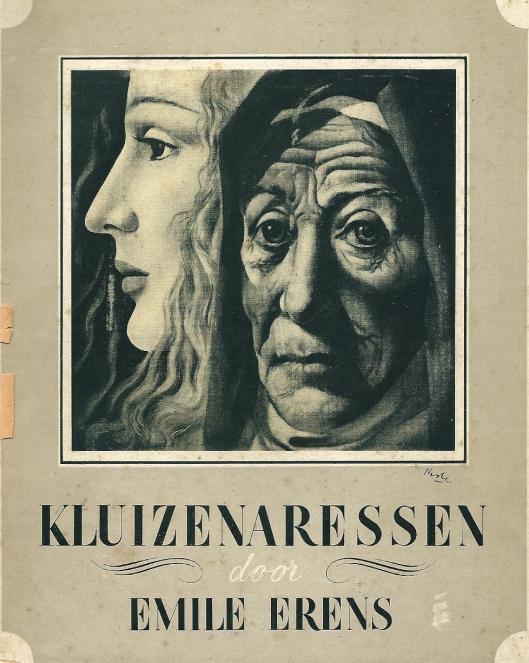 Vooromslag van 'de Kluizenaressen' door Emile Erens