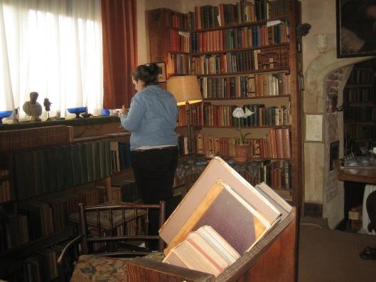 Sissinghurst library/writing room, county Kent