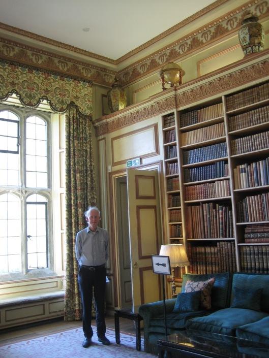 Hans Krol in Leeds kasteelbibliotheek, graafschap Kent, 4 juni 2014