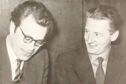 Godfried Bomans en Simon Carmiggelt