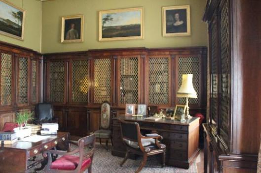 Castle Ward library, Strangford, Northern Ireland