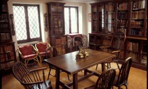 Interieurfoto Dickens Museum Library