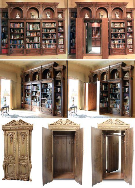 Geheime deuren in Britse bibliotheken