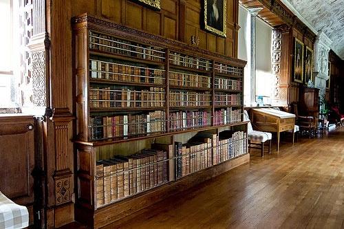 Lanhydrock House Library (Cornwall) (Beheerd door The National Trust)