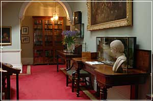 Bibliotheek in Newport House Library Hotel
