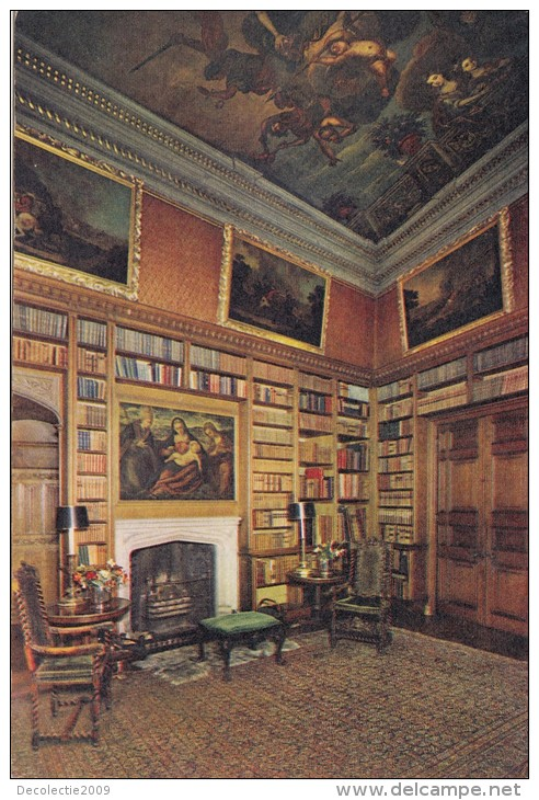 Powis Castle library in Welshpole
