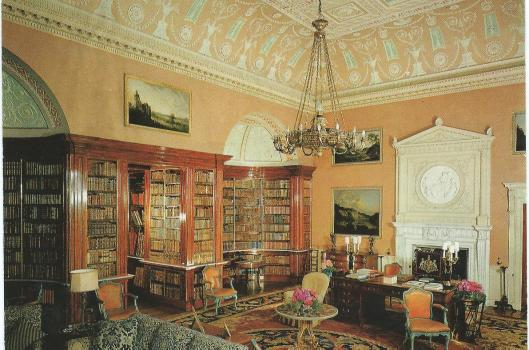 Library Harewood House, Yorkshire