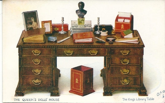 The King's Library Table of the Queen's Dolls' House