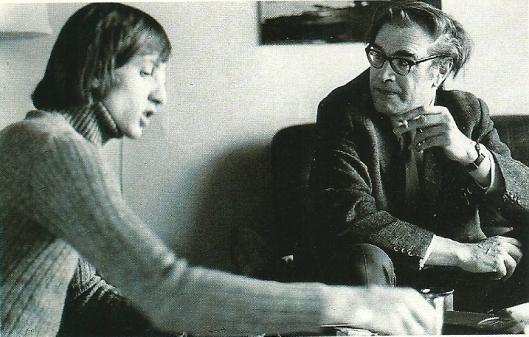 De laatste interviews door Godfried Bomans afgenomen kort voor zijn overlijden waren met psychiater Jean Foudraine en voetbalfenomeen Johan Cruijf (links op de foto).
