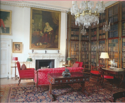 Library in Apsley House, London