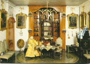 Poppenhuis van Sara Ploos van Amstel-Rothé uit 1745. (Frans Halsmuseum Haarlem; foto Tom Haartsen)