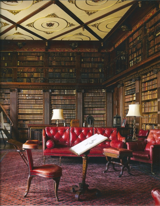 Bibliotheek Hatfield House (James W.P.Campbell/Will Pryce)
