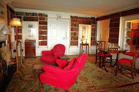 St.Michael's Mount library. Marazion (Cornwall). Al meer dan drie eeuwen bezit van de St.Aubyn familie