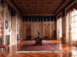 Sweetington castle library