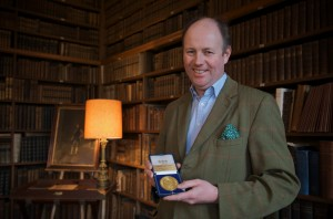 Sir Richard FitzHerbert owner of Tissington Hall