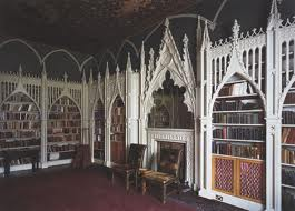 De Strawberry Hill library