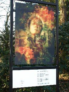 In de gedichtenroute van Valkenburg zijn sinds 2008 twee borden opgenomen met verzen van Jan Hanlo: 1) 'Ik noem je bloem etc.' en 2) 'Overweging met een lyrische component'  (Mats Beek)