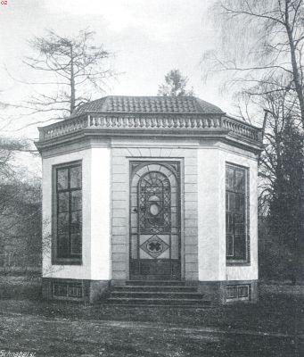 De koepel van Groenendaal hier nog in volle glorie omstreeks 1930