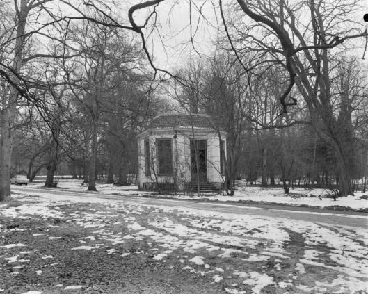 Koepel Groenendaal in februari 1969 (foto G.J.Dukker)