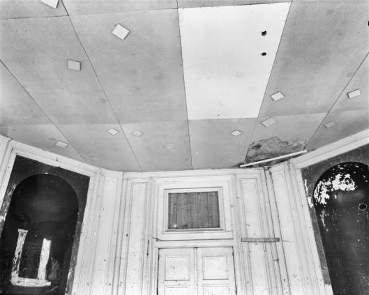 Interieurfoto koepel uit 1969 door G.J.Dukker