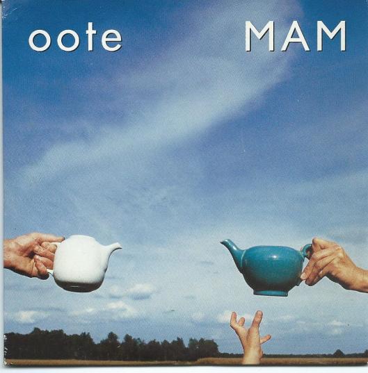 Voorzijde cd Stout met o.a. OOTE. Opname & Mix Maarten Hartveldt Studio. Produktie Pierre Geoffroy Chteau.