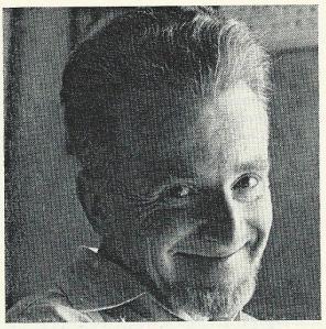 Een lachende Jan Hanlo