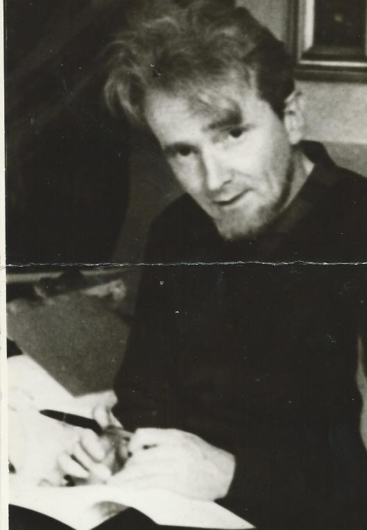 Door Jan Hanlo aan mij toegezonden foto. Op de achterzijde schreef hij zijn naam en geboortedatum 29-5-1912