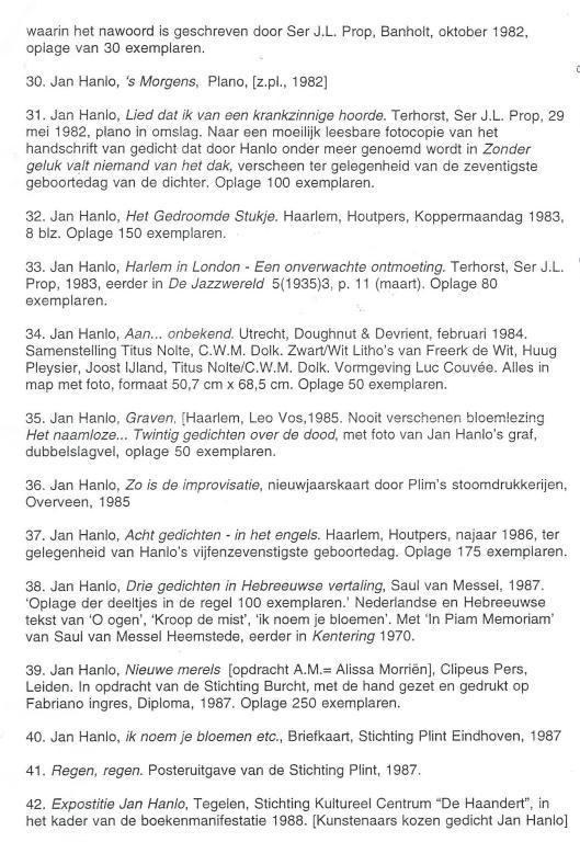 Bibliografie Hanlo (4)