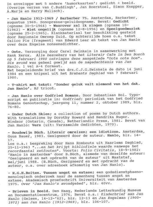 Bibliofiele uitgaven Jan Hanlo (4)