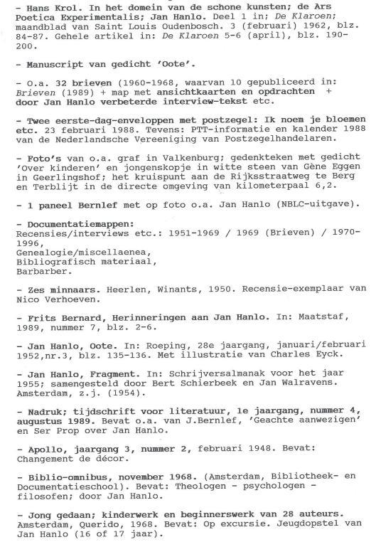 Bibliofiele uitgaven Jan Hanlo (5)