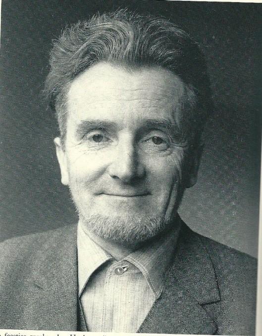 'Staatsiefoto' Jan Hanlo door Philip Mechanicus (1981)