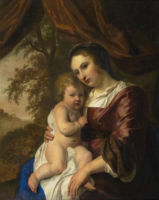 Dirk Bleker: moeder met kind