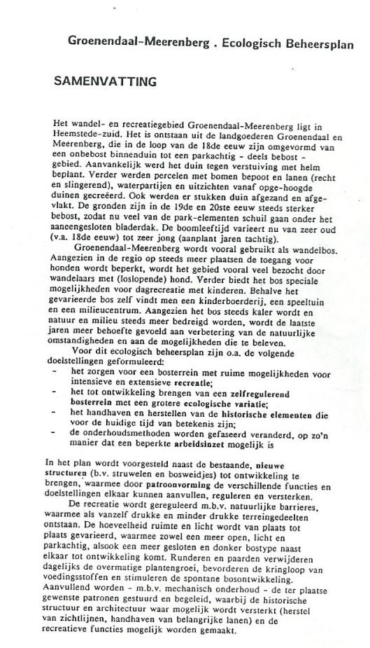 Ecologisch beheer 1990 (2)